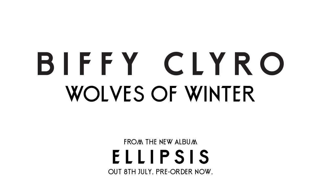 Nuevo videoclip de Biffy Clyro: Wolves Of Winter