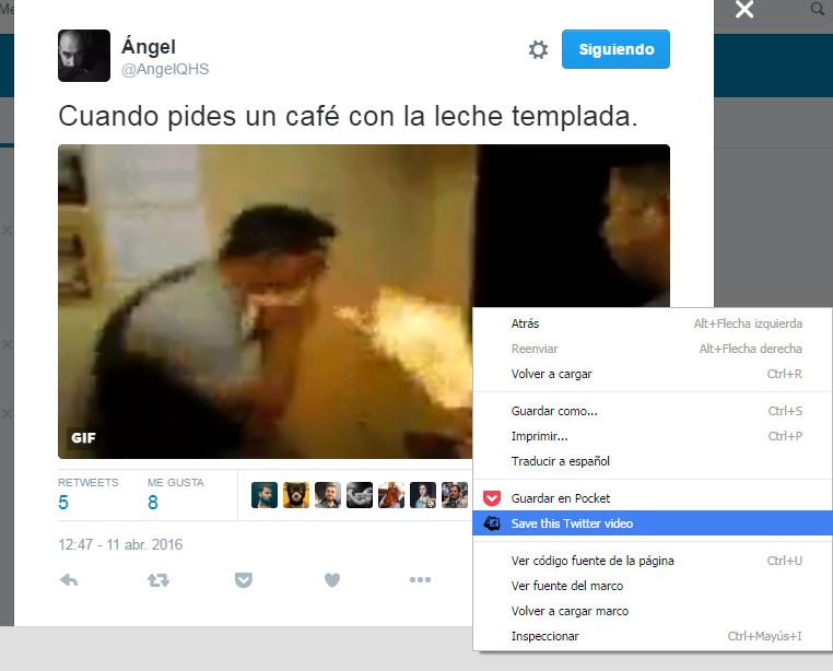 Descargar Gifs de Twitter (En el navegador) #Briconsejo