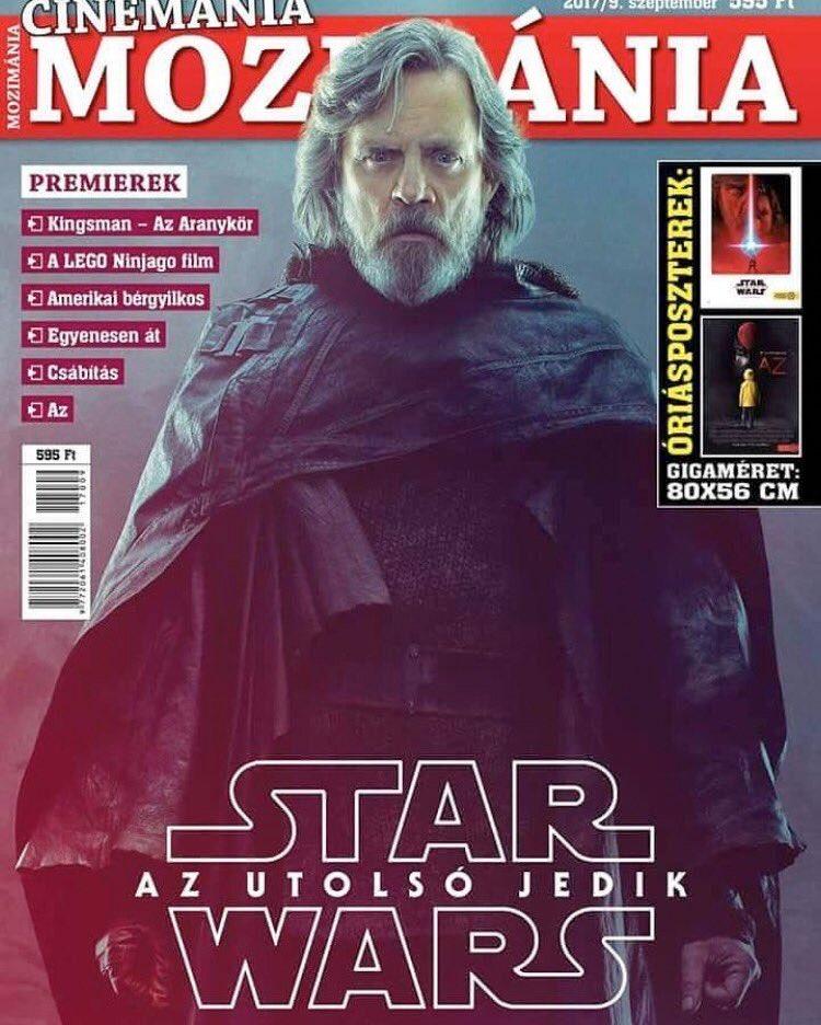 Nueva imagen de Mark Hamill en Star Wars #TheLastJedi