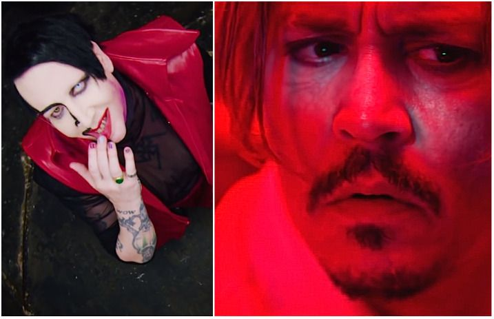 Kill4me Marilyn Manson Johnny Depp