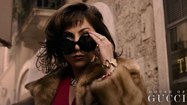 Tráiler y carteles de HOUSE OF GUCCI de Ridley Scott con Lady Gaga y Adam Driver