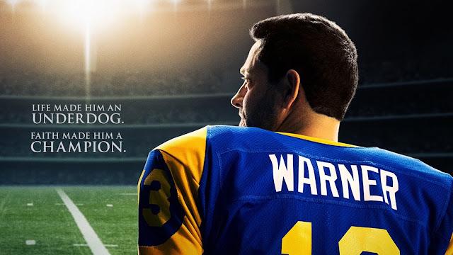 La película biográfica de Kurt Warner de Zachary Levi AMERICAN UNDERDOG obtiene un póster y una fecha de lanzamiento